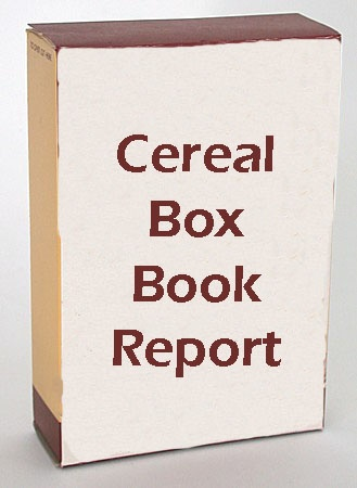Creative Book Report.  I think this would be great for my students who are terrified of writing book reports.
