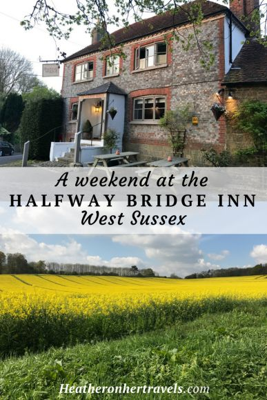 Stay at the delightful Halfway Bridge near Petworth, a country inn with rooms that serves delicious food and is ideal for those who want to explore West Sussex