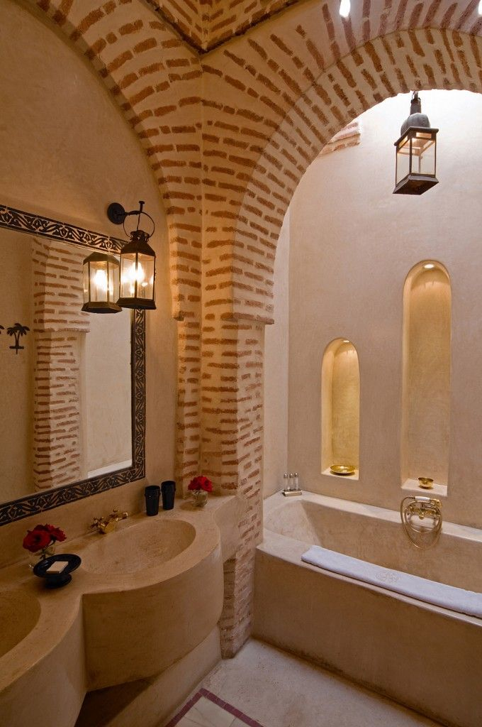 17 best images about moroccan style on pinterest morocco moroccan decor and moroccan bathroom - Je decore salle de bain ...