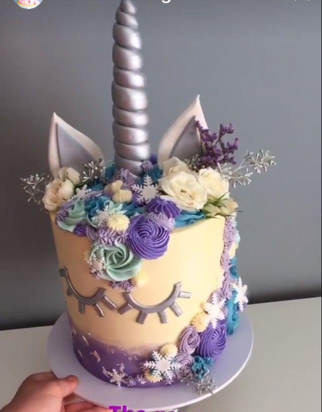 Fun Unicorn Cake That S So Cute Even Little Miss 3 Yr