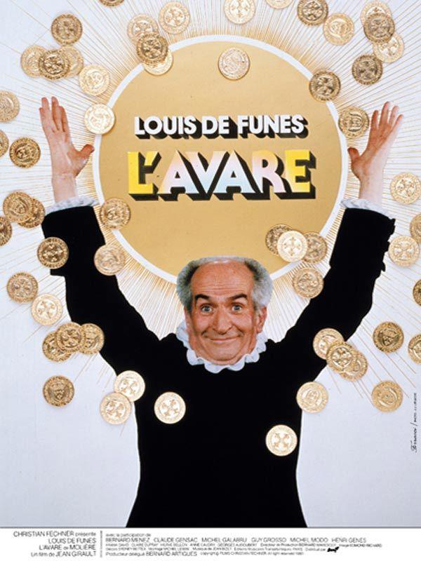 L'avare (1980, Luis de Funès, Jean Girault)
