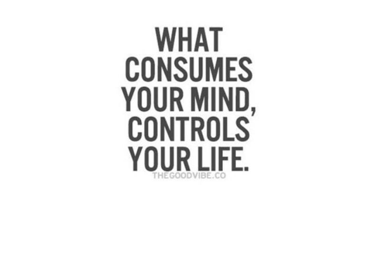 What's consuming your mind folks?
