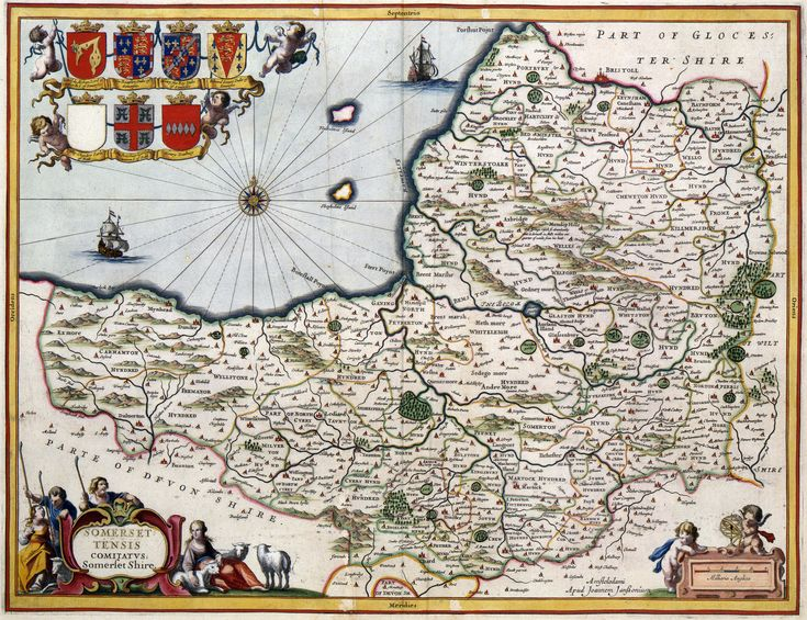 595 best maps images on pinterest antique maps maps and old cards 400 year old map of somerset circa 1648 sciox Gallery