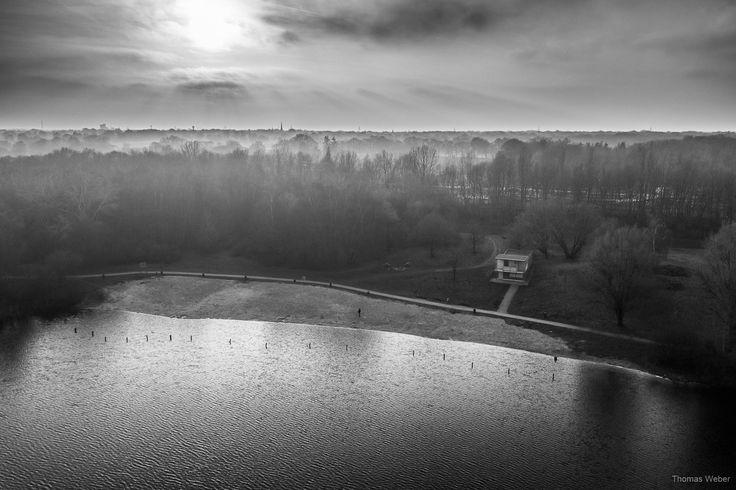 Beautiful sunset at a cold winter lake in Oldenburg, Germany.  Follow me on Instagram: https://www.instagram.com/phothomas.de/  #bornhorster #bornhorstersee #see #lake #sunset #sonnenuntergang #dji #himmel #blackandwhite #sky #water #bnw #winter #cold #romance #photo #photography #phothomas #photographer #oldenburg #rastede #bremen #fotograf #thomasweber #germany #photooftheday #picoftheday #amazing
