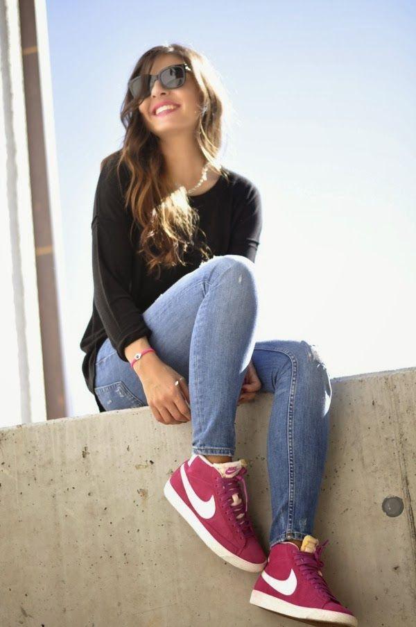 fashiones: Pink Nike Blazer
