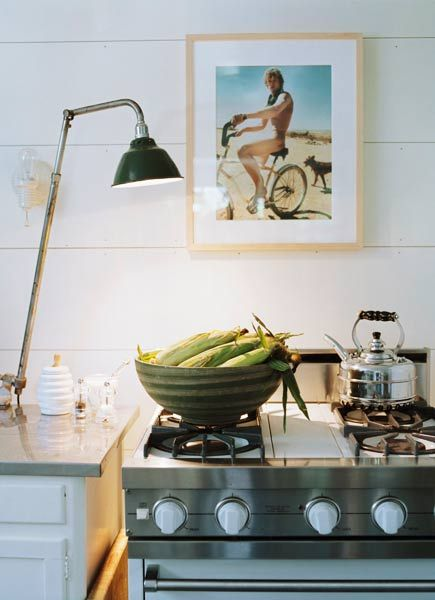 love amazing photography in unexpected places..above the stove!