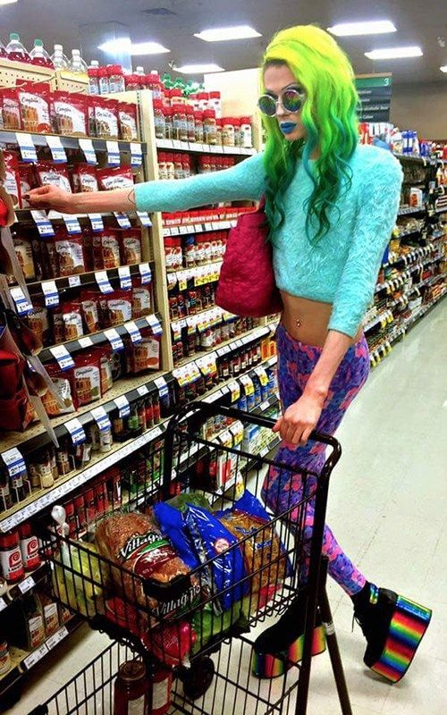 Somewhere Over the Rainbow at Walmart - Funny Pictures at Walmart
