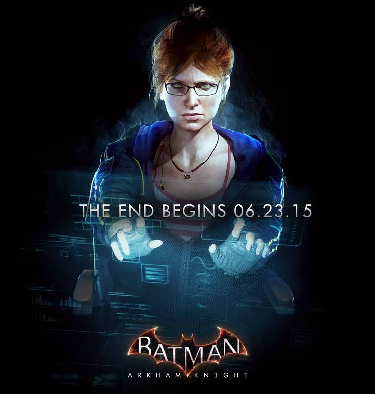 Latest BATMAN: ARKHAM KNIGHT Promotional Image Features Oracle In Action