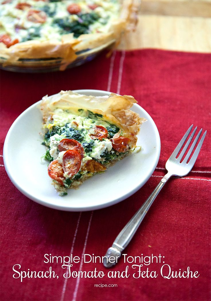 Check out this recipe for a delicious #quiche with a perfectly crisp and flaky crust!