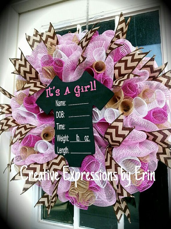 Hey, I found this really awesome Etsy listing at https://www.etsy.com/listing/216423501/its-a-girl-onsie-wreath-new-baby-wreath