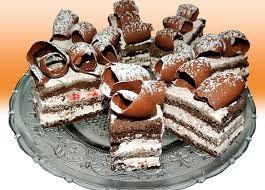 Resultado de imagem para vendo bolo em fatias