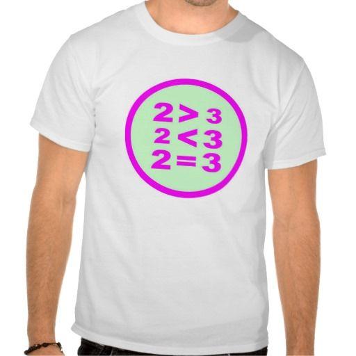 T-Shirt About Math