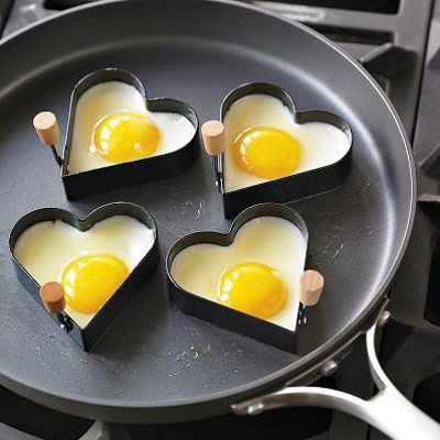 Norpro Nonstick Heart Pancake Egg Rings (Set of 2)