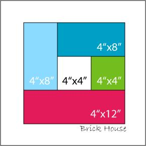 """Here are the unfinished/cut sizes.  White - 4.5"""" x 4.5"""", Green - 4.5"""" x 4.5"""", Teal - 4.5"""" x 8.5"""", Aqua - 4.5"""" x 8.5"""", Pink - 4.5"""" x 12.5"""""""