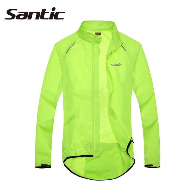 Santic hombres ciclismo chaquetas upf30 + mtb bicicleta lluvia clothing ciclismo chaqueta impermeable chaqueta de manga larga de deportes al aire libre 2017