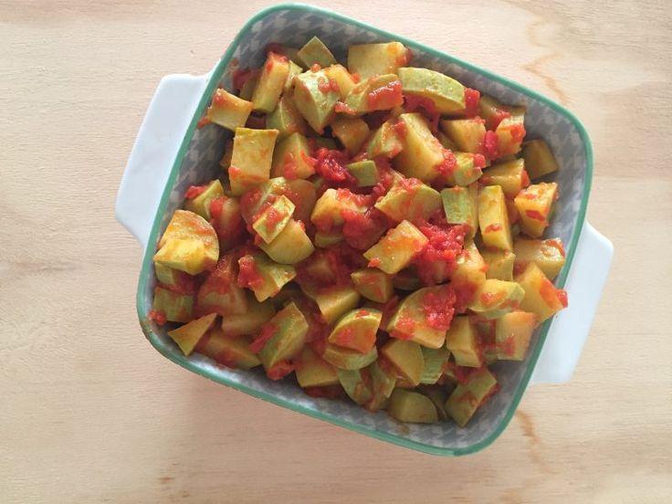 #zucchine trombetta al #pomodoro