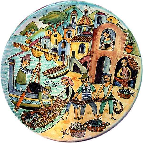 smalto antico vietri - ceramiche vietri sul mare, ceramica cassetta smalti antichi