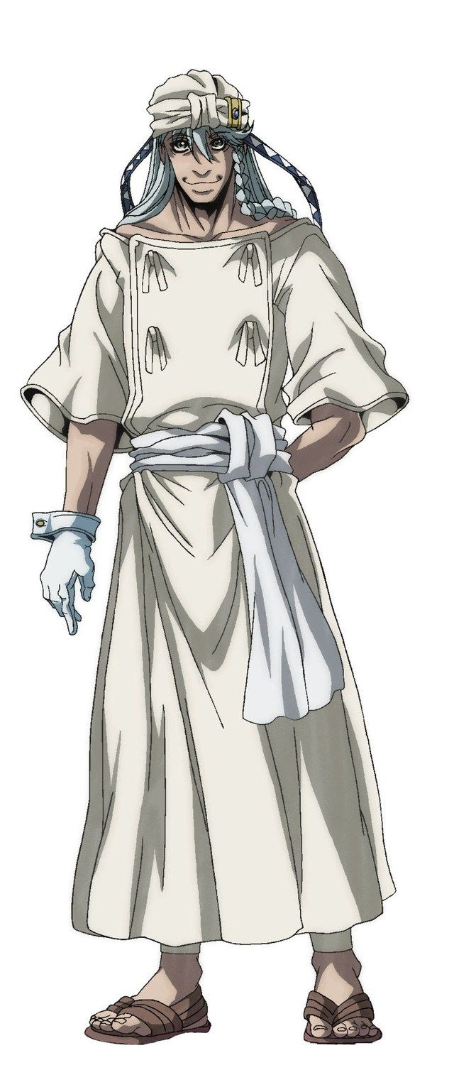 Check out Drifters' new character He looks like
