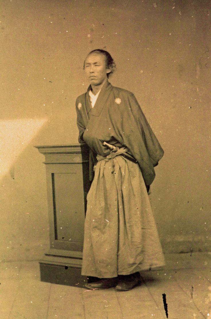 Sakamoto Ryōma (坂本 龍馬, January 3, 1836 – December 10, 1867)