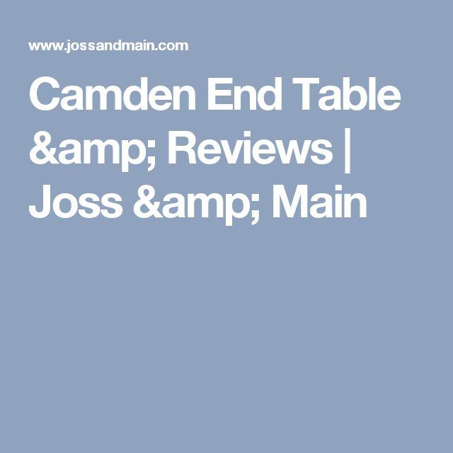 Camden End Table & Reviews   Joss & Main