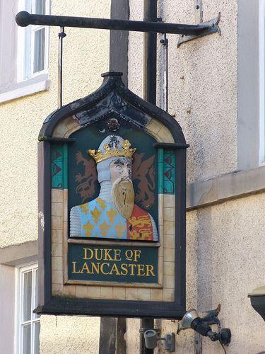 Pub Sign - Duke of Lancaster, 75 Church Street, Lancaster 121104