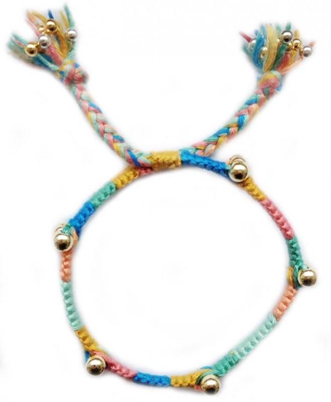 ★ Golden smile ★ | Hippie armbanden | hippie style macrame bracelet
