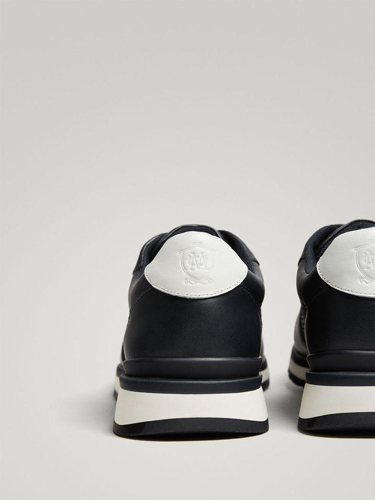 DEPORTIVO PIEL COMBINADA REJILLA SOFT COLLECTION de HOMBRE - Zapatos - Ver todo de Massimo Dutti de Otoño Invierno 2017 por 69.95. ¡Elegancia natural!