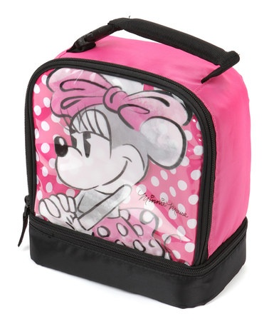 Take a look at this Minnie Mouse Dual Compartment Lunch Box by Disney on #zulily today!