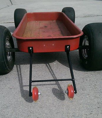 Custom Radio Flyer Wagon Wheelie Bars Flexible Flyer Hot Rod Rat Rod Pedal Car Does not apply | eBay