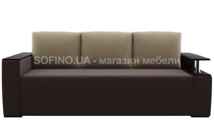 Диван Сидней - еще одна интересная модель от украинского производителя. Обратите внимание на удобную полку в подлокотнике. Три большие мягкие подушки, упругое сиденье, просторное место для сна, вместительный короб - все это есть в этом диване! Обивочную ткань Вы выбираете сами. Мебель может стать ярким акцентом в Вашем жилище и завершить любое интерьерное решение.
