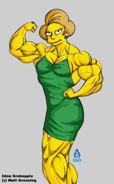 """Edna Krabappel, the """"iron maiden"""""""