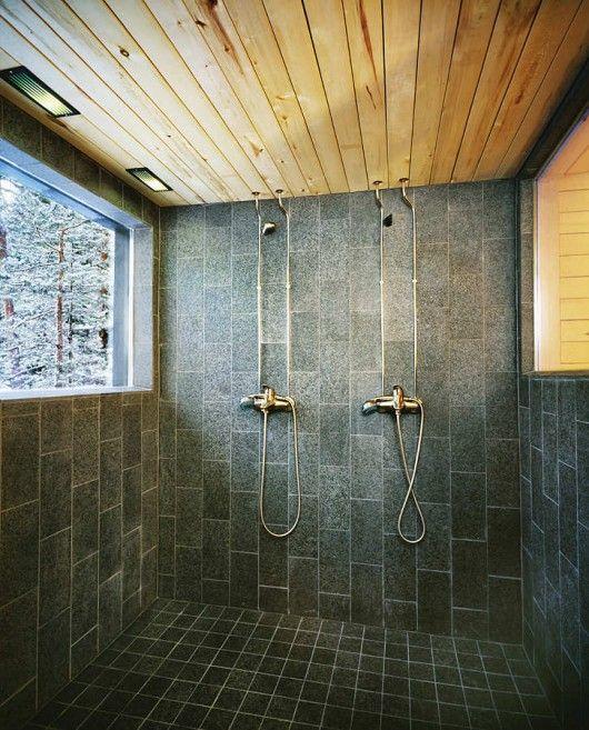 zen-ish shower