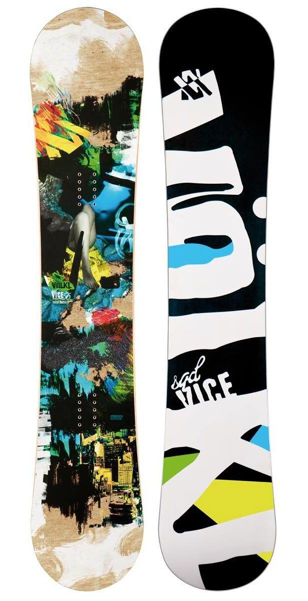 £270. Volkl Vice Squad Snowboard 2013