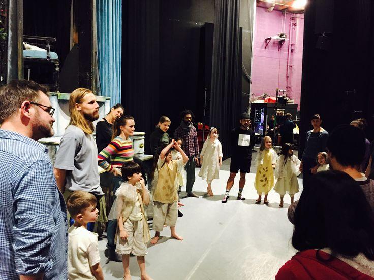 Rehearsals at Warwick Arts Centre