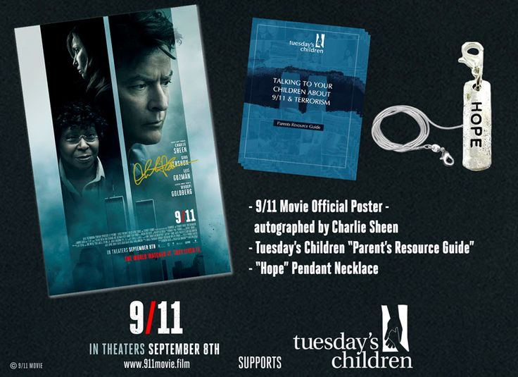 9/11 Film Charlie Sheen Autographed Poster Movie Gift Pack.#Remember911 @9_11Movie  #Giveaway - http://www.nighthelper.com/911-film-charlie-sheen-autographed-poster-movie-gift-pack-remember911-9_11movie-giveaway/