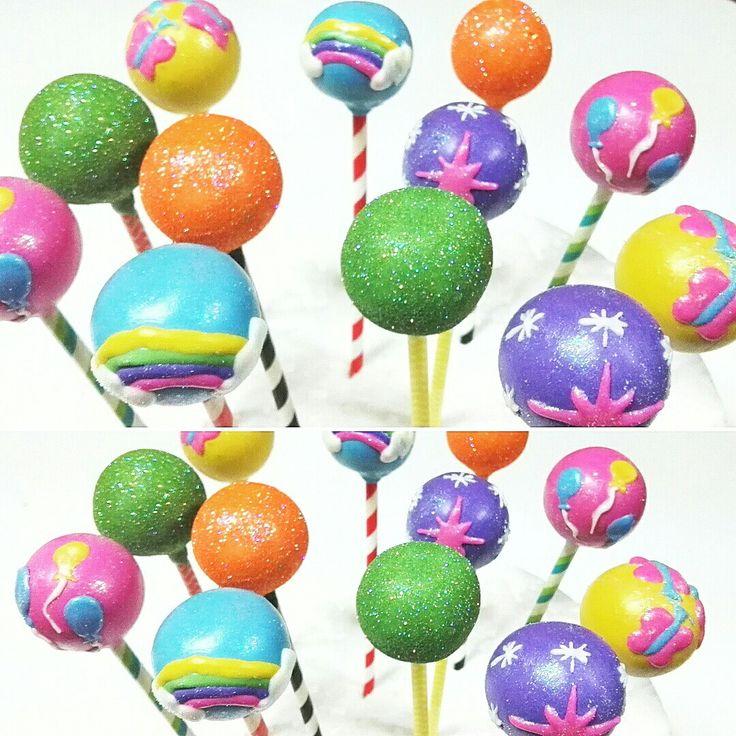 Cake Pops Rainbow Rock