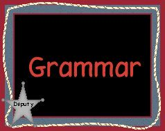 This website lists some great grammar review activities for the upper grades.  Includes materials!