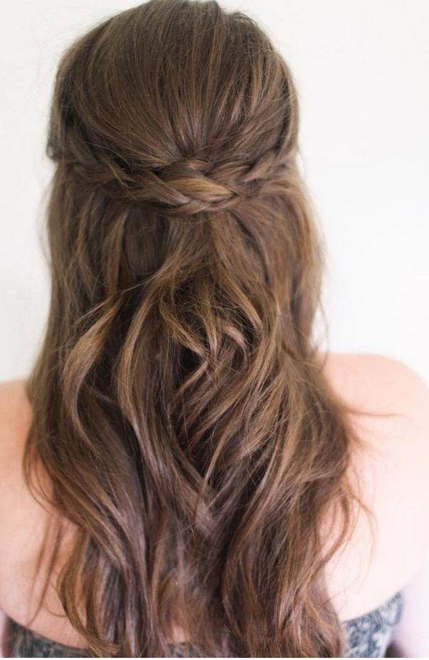 Wedding Trend We Love: Bridal Braids - half up braid