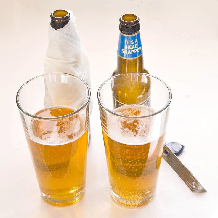 To Chill A Bottle Of Soda Or Beer Quickly Take A Wet