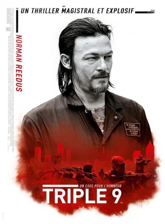 Triple 9 Movie Poster - Norman Reedus