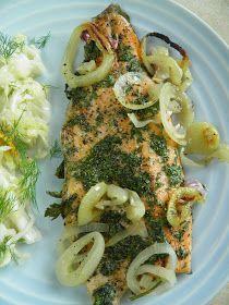 Tak bardzo smakowała mi ta ryba, że nie mogłam się jej najeść. To był naprawdę wyjątkowo pyszny i jednocześnie lekki posiłek. Pstrąg był b...