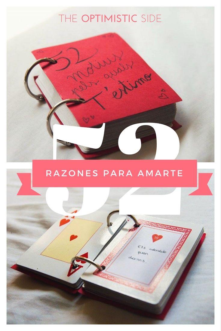 idea de regalo diy para pareja novio novia con printable incluido razones