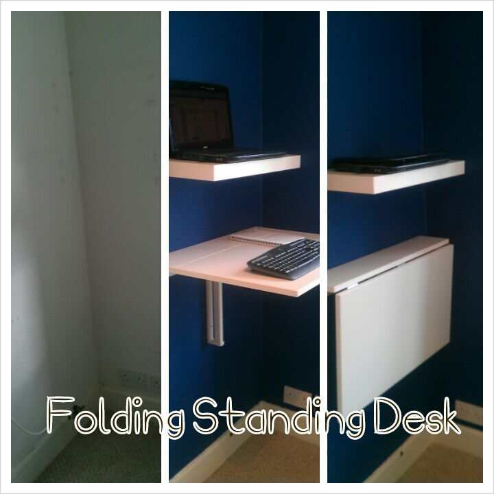 oh finally one using the bjursta table foldable standing desk