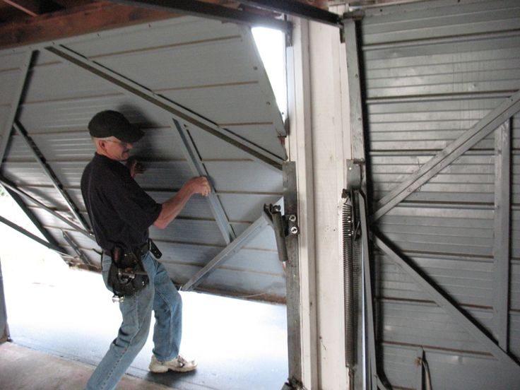 Best 25 extension springs ideas on pinterest billy the for 1 piece garage door