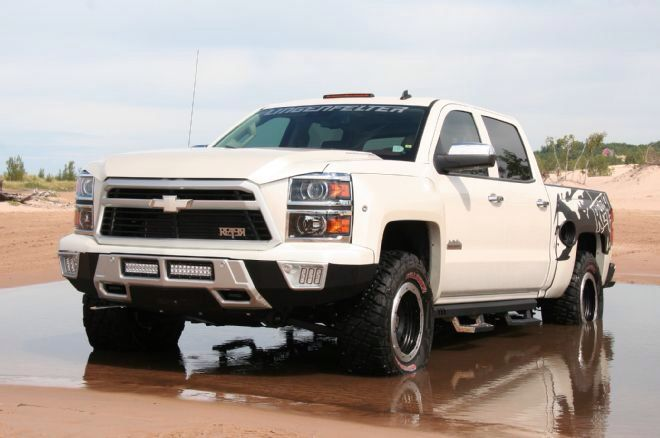 17 best ideas about chevy reaper on pinterest lifted chevy trucks chevy trucks and ford raptor. Black Bedroom Furniture Sets. Home Design Ideas