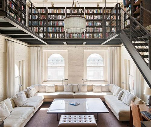 28 Dreamy Home Offices With Libraries For Creative Inspiration: Like This, In The Making