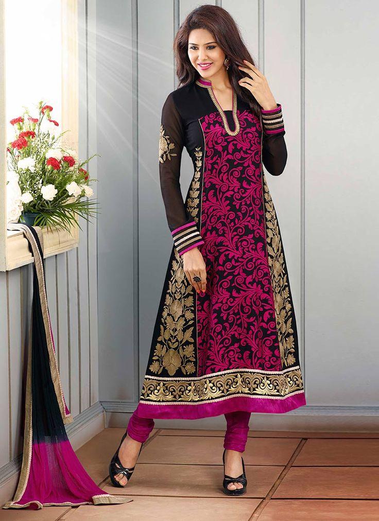 Latest Indian Fashion Kalidar Suits Salwar Kameez 2015 Dresses for Women