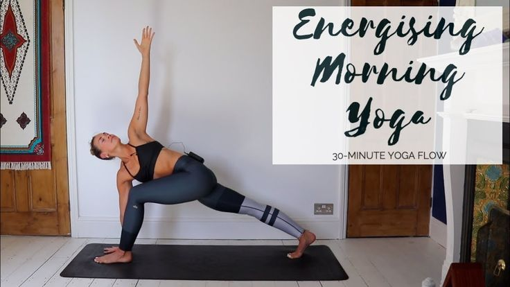MORNING YOGA | Energising 30-Minute Yoga Flow | CAT MEFFAN ...