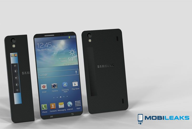 Would you like a Samsung Galaxy S5 with a folding design?