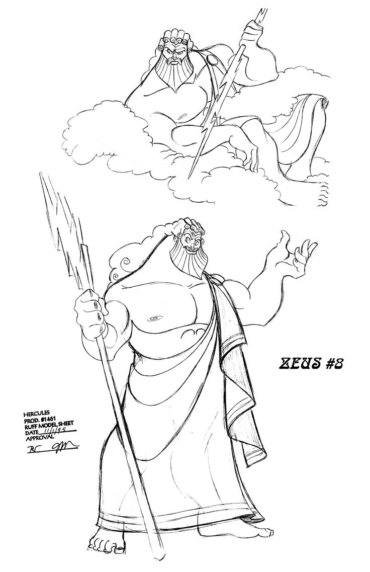 Line Drawing Of Zeus : Best hercules images on pinterest disney drawings